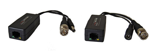 Video CCTV + Power Balun